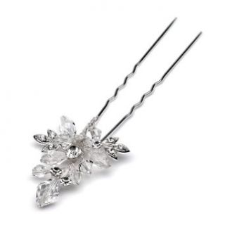 Bridal Hair Pin, Crystal & Rhinestone Hair Pin 202 Clothing
