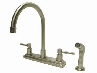 Concord Satin Nickel Lever handle Kitchen Faucet