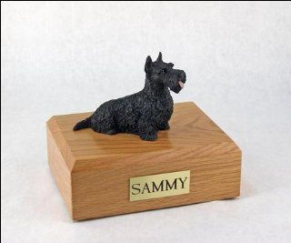 Scottish Terrier Dog Figurine Pet Cremation Urn   207