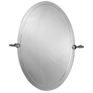 Aquabrass 4520PC Polished Chrome Bathroom Accessories 20 x 30 Oval