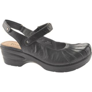 Womens Portlandia Seattle Black Leather