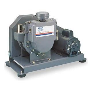 Welch 1397B 46 VACUUM PUMP 1 HP 17.7 CFM