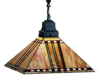 Prairie Corn Mission Tiffany Stained Glass Pendant Lighting Fixture 13