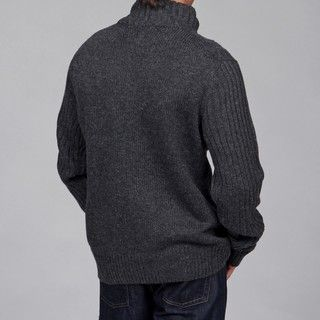 The Fresh Brand Mens 1/4 Zip Wool/Cashmere Blend Sweater