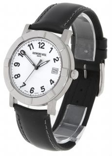 Raymond Weil W1 Mens Black Strap Watch