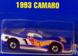 Hot Wheels 1993 Camaro #242 All Blue Card 164 Scale Toys