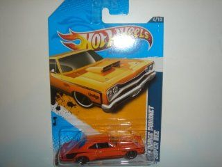Hot Wheels 69 Dodge Coronet Super Bee Orange #84/247 Toys & Games