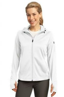 Sport Tek L248   Ladies Tech Fleece Full Zip Hooded Jacket