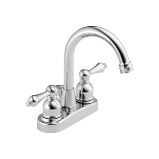 Delta Faucets Peerless 2 handle Centerset Chrome Lavatory Bathroom